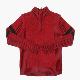 アメリヴィンテージ(Ameri VINTAGE)のvintage kint zip up sweater sullen(ニット/セーター)