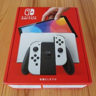 ニンテンドウ(任天堂)の新型 Nintendo Switch(有機ELモデル) (家庭用ゲーム機本体)