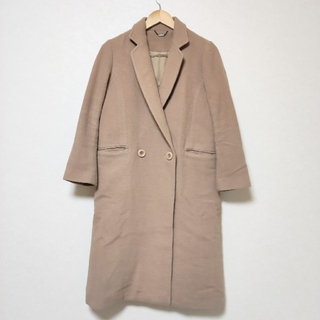 リリーブラウン(Lily Brown)のlily brown リリーブラウン ウール ロング コート キャメル 韓国(ロングコート)