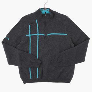 アメリヴィンテージ(Ameri VINTAGE)のvintage mohair zip-up  sweater sullen(ニット/セーター)