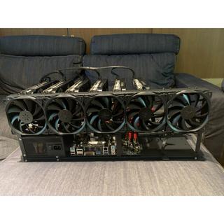 マイニングリグ GTX1660sp or ti 5台セットアップ済み