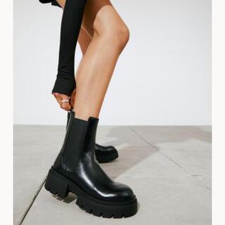 エイチアンドエム(H&M)のH&M チェルシーブーツ 24.5(ブーツ)