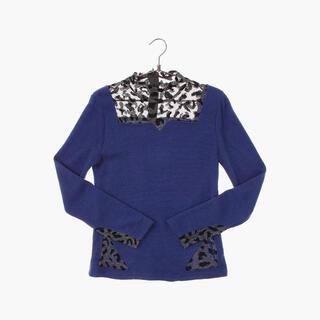 アメリヴィンテージ(Ameri VINTAGE)のvintage see-through kint sweater sullen(ニット/セーター)