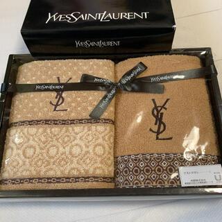 Yves Saint Laurent Beaute - イヴ・サンローラン  ゲストタオル 2枚セット