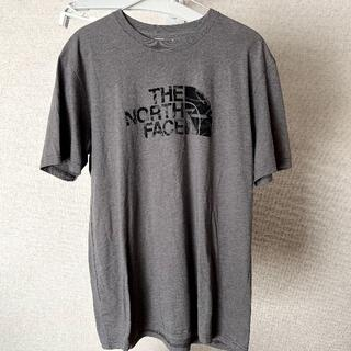 THE NORTH FACE - 【中古・古着】THE NORTH FACE Tシャツ グレー 米国Mサイズ