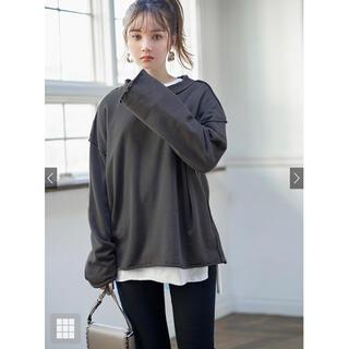 グレイル(GRL)のバックタグデザインロンT(Tシャツ(長袖/七分))