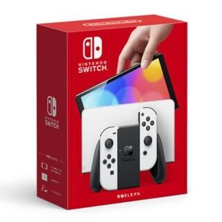 ニンテンドースイッチ(Nintendo Switch)のNintendo Switch(有機ELモデル)ホワイト 本体1台(家庭用ゲーム機本体)