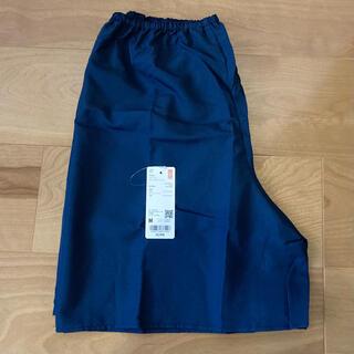 UNIQLO - 新品 タグ付き UNIQLO ペチコート M ワッシャーサテンスカートパンツ