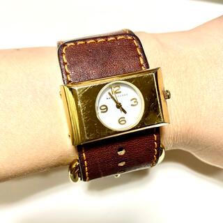 マークジェイコブス(MARC JACOBS)のマークジェイコブス 腕時計 レディース  電池新品 ブレスウォッチ(腕時計)