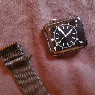 アップルウォッチ(Apple Watch)のapple watch series 2 42mm(腕時計(デジタル))