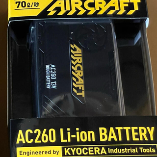 BURTLE - バートル バッテリー  AC260 ブラック