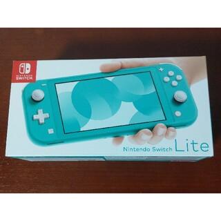 Nintendo Switch - ニンテンドー Switch ライト ターコイズ 本体