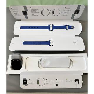 アップルウォッチ(Apple Watch)のApple Watch Series 6 40mm アルミニウムシルバーグレイ(腕時計(デジタル))