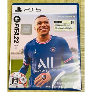 PlayStation - 新品未開封◆PS5版 FIFA22 初回特典付 即発送
