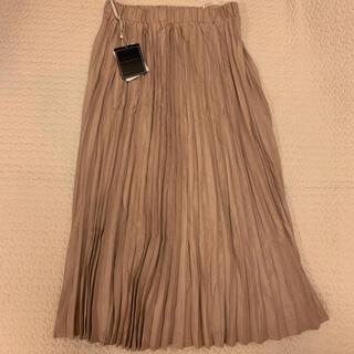 レディー(Rady)のミコアメリ スエードプリーツスカート(ロングスカート)