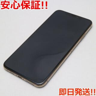 アイフォーン(iPhone)の新品同様 SIMフリー iPhoneXS MAX 512GB ゴールド 本体 (スマートフォン本体)