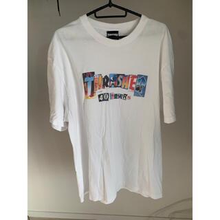 THRASHER - THRASHER Tシャツ フリーサイズ ホワイト