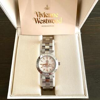 Vivienne Westwood - 【美品!!】ヴィヴィアンウエストウッド オーブ文字盤 腕時計 シルバー 秋🎀