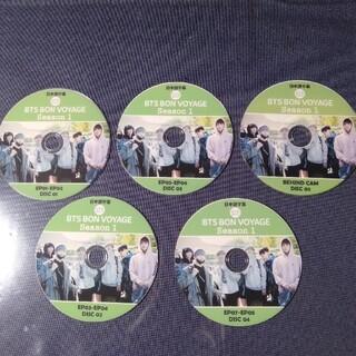 防弾少年団(BTS) - DVD5枚 BTS BON VOYAGE Season1 全ep1-8+