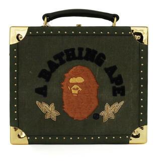 A BATHING APE - A BATHING APE X READYMADE CLUTCH BAG