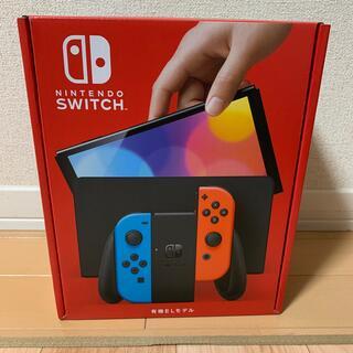ニンテンドースイッチ(Nintendo Switch)の[新品•未開封] NINTENDO SWITCH 有機ELモデル(家庭用ゲーム機本体)