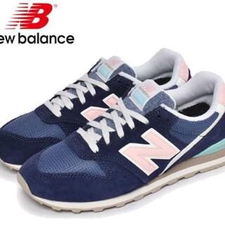 New Balance - ニューバランス996 ネイビー×ピンク