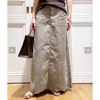 DEUXIEME CLASSE - ドゥーズィエムクラス⭐️ SURT/サートコーデュロイマキシスカート36