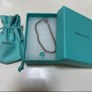 Tiffany & Co. - ティファニー ハートタグ ブレスレット 美品