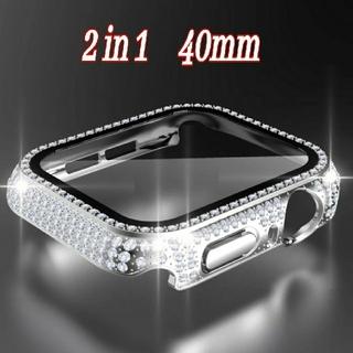 Apple Watch CZ 保護カバー  バンド ベルト 38/40mm c