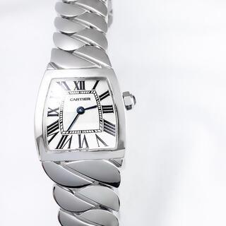 Cartier - 【仕上済】 カルティエ ラドーニャ ブレス シルバー レディース 腕時計