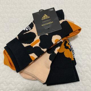 marimekko - 新品 マリメッコ  marimekko  アディダス  adidas 靴下