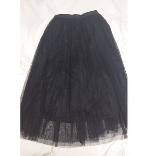GU - 2189円<税込>→1700円 チュールロングスカート GU ジーユー