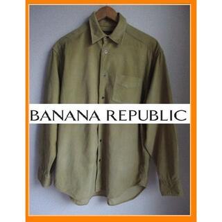 バナナリパブリック(Banana Republic)のBANANA REPUBLIC バナナリパブリック ネルシャツ コーディロイ(シャツ)