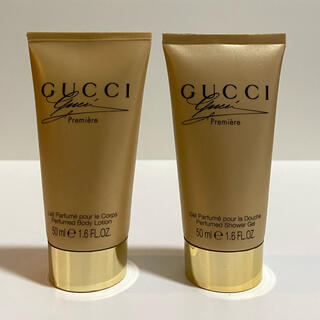 Gucci - 【GUCCI】グッチプルミエールシャワージェル、ボディーロンション 50ml