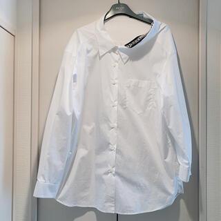 プラダ(PRADA)のプラダ シャツ ホワイト 白(シャツ/ブラウス(長袖/七分))