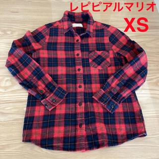 レピピアルマリオ(repipi armario)の【レピピアルマリオ】チェックのシャツ(Tシャツ/カットソー)