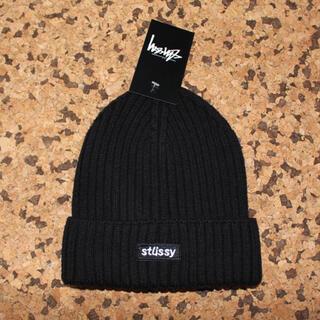 STUSSY ステューシー ニットキャップ ニット帽(ニット帽/ビーニー)