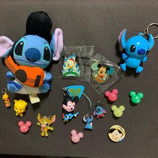 Disney - ディズニー ミッキー スティッチ プーさん ドナルド ピノキオ キーホルダー