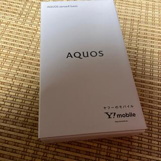 AQUOS - AQUOS sense4 basic スマホ 本体 ブラック