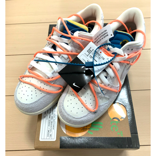 """NIKE - NIKE DUNK LOW×OFF-WHITE 1 OF 50 """"19"""""""