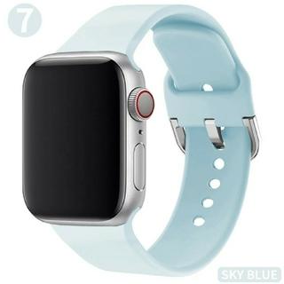 Apple Watch ソフト バンド 38/40mm スカイブルー