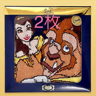 FEILER - フェイラー 美女と野獣 コラボ ハンカチ ディズニー 30周年