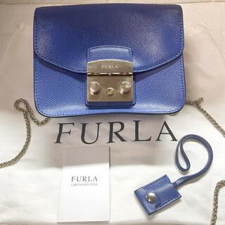 Furla - ケアタグ付 FURLA フルラ メトロポリス ミニショルダーバッグ カーフレザー