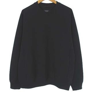 ユニクロ(UNIQLO)のユニクロ 美品 20SS ドライストレッチ スウェットシャツ トレーナー 黒 M(その他)
