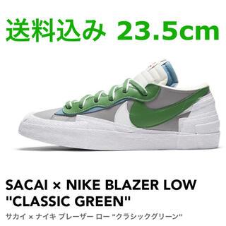 NIKE - SACAI NIKE BLAZER LOW CLASSIC GREEN 23.5