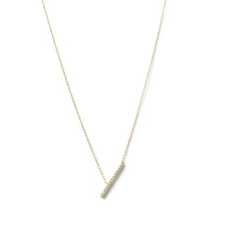 agete - 【新品未使用】agete K18 ダイヤモンド ネックレス