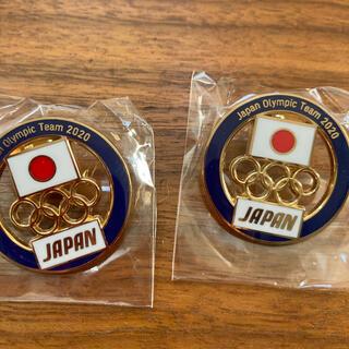 東京オリンピック ピンバッチ2個セット 非売品 JOC