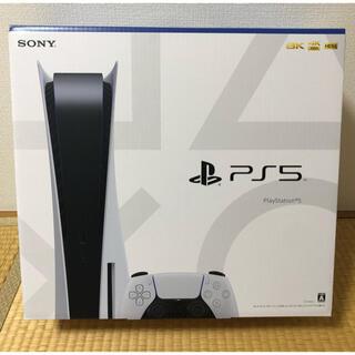 プレイステーション(PlayStation)の🌟新品未開封品🌟 PlayStation5 通常版 本体 8月最新モデル(家庭用ゲーム機本体)