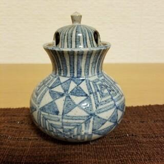 クタニセイヨウ(九谷青窯)の九谷焼  香炉(お香/香炉)