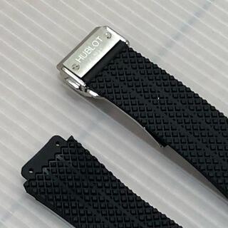 汎用交換用ベルト 対応ウブロ 時計ラバーベルト Dバックル 26